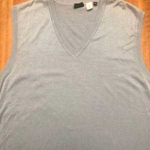 PS Paul Smith Ice Blue Men's Sweater Vest - Sz XL